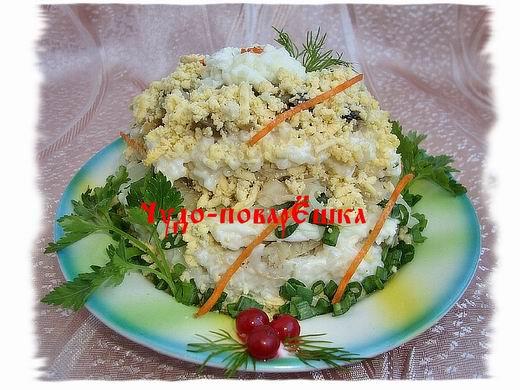 Мужской салат рецепт с