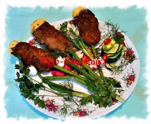 "Закуска ""Камыши"" – кулинарный рецепт"