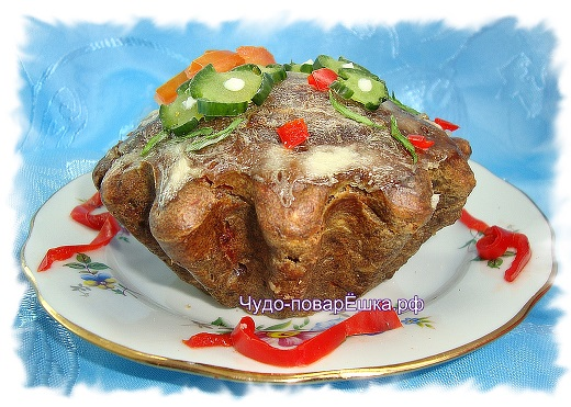 Печёночный кекс
