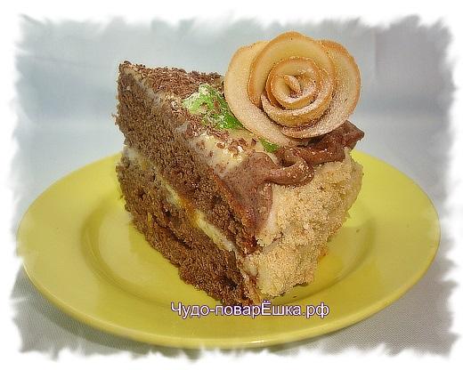 Тортик Шоколад на кипятке