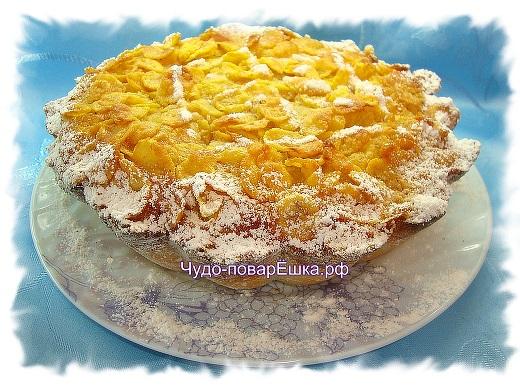 Пирог Абрикосо-йогуртовый
