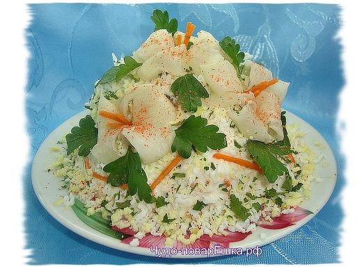 Праздничный салат Искушение