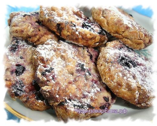 Смородиновое печенье