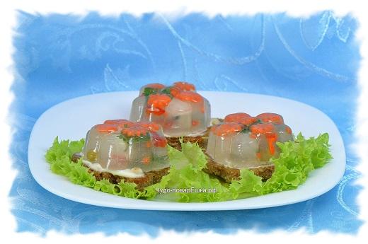 Бутерброды с заливным