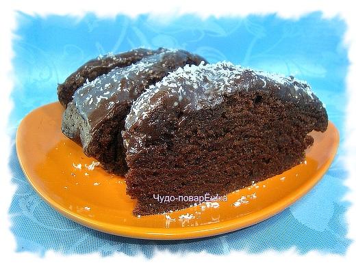Шоколадный пирог Вкусный и лёгкий