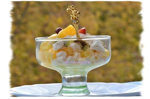 Зефирный десерт
