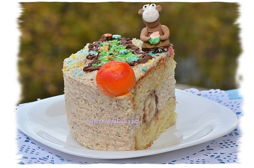 Торт Год Обезъяны